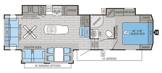 2016 eagle fifth wheel floorplans s jayco inc fifth wheel floor plans with outside kitchen
