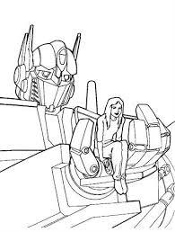 Kleurplaten Transformers Bumblebee