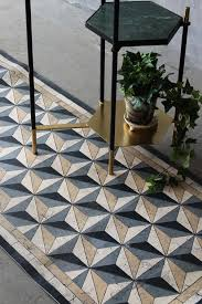 beija vinyl floor runner antique geometric