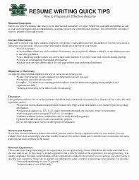 Example Of A Good Resume Lovely Examples Well Written Resumes