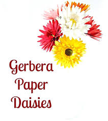 Flower Templates For Paper Flowers Paper Flowers Daisy Flower Templates Cut Files For