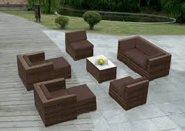 modern wicker patio furniture. Beautiful Ohana Outdoor Patio Wicker Furniture Deep Seating Couch Set. Modern A