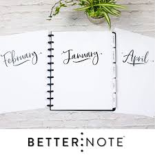 Monthly Calendar Notebook Betternote 2020 Monthly Calendar Tabbed Dividers For Discbound Planners 11 Disc Notebook Fits Circa Letter Arc By Staples Tul By Office Depot