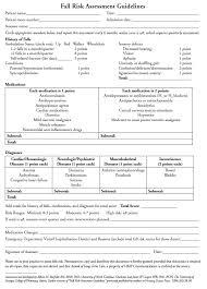 Nursing Charting Guidelines Fall Risk Assessment Guidelines Elderly Care Nursing