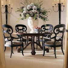 Antique Round Kitchen Table Antique Round Dining Table Set For 4 Eva Furniture