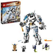 LEGO 71738 NINJAGO Legacy Zanes Titan-Mech Ninja