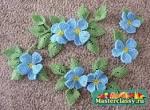Плетение цветка из бисера видео для начинающих 50