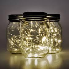 Top Honderd Gadgy Solar Jar Fairy Lights 3 Glazen Potten Met Led