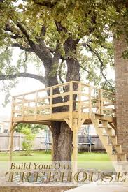 this is another tree deck that naturally you can build yourself i think this would be an amazing area that adults could go to read cool houses l49 houses