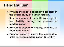 l o g o modernization and fertility a critical essay richard a 3