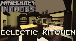 Minecraft Kitchen Furniture Eclectic Kitchen In Yellow Minecraft Indoors Interior Design