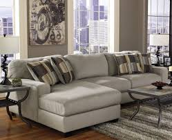 Sectional For Small Living Room Modern Minimalist Living Room Design With Sectional Foamy Grey
