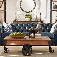 Myra Vintage Industrial Modern Rustic 47-inch Coffee Table By INSPIRE Q  Classic