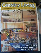 Small Picture Country Living Home Garden Monthly Magazine Back Issues eBay