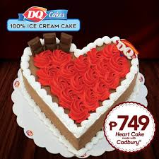 Feel The Love This Valentines With Dairy Queens Heart Cake Made
