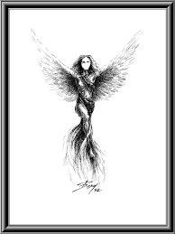 Drawings Of Phoenix Phoenix Boyan Donev Drawings
