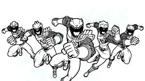 Power Rangers Ninja Steel Free Coloring Pages Colouring Gold Ranger