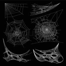 Spider Web Pattern Cool Spiderweb Or Spider Web And Cobweb On Wall Corner Vector Isolated