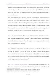 critical management thinking final essay bianca obert and yafei xue   3