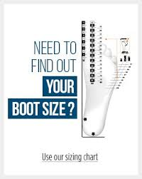 Ski Boots Size Chart Europe What Size For Your Ski Boots