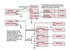 yamaha r6 halo headlight mod 4 steps 2005 yamaha r6 wiring diagram at R6 Wire Diagram