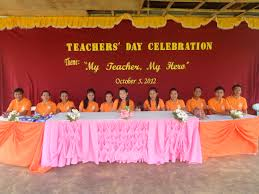 my teacher my hero san rafael national and vocational high school the ssg organization conducted the world teachers day last 5 2012 as a tribute to our beloved teachers for their accomplishments