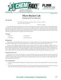 91612 micro rocket lab part a hydrogen peroxide