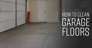 how to clean garage floors simple green