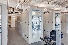 personal locker storage is perfect for officers