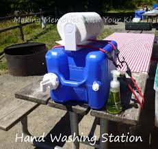 these diy camping s will make a huge difference on your next campout hand washing station