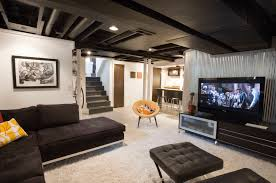 Painted Ceiling Ideas Freshome - Painted basement ceiling ideas