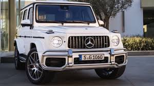 A beautiful white mercedes benz g wagon (w/ red interior)! 2019 Mercedes G63 New G Class Full 2018 G Wagon Features Interior Exterior Youtube