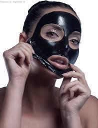 Zwarte porien masker