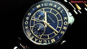 Женские кварцевые <b>часы Michael Kors MK6195</b> - YouTube