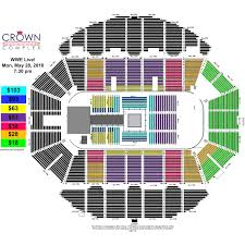 Crown Center Of Cumberland County Seating Chart Wwe Live Crown Complex