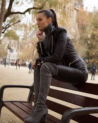 a celebration of beautiful women wearing leather i love the dominance of leather why are there