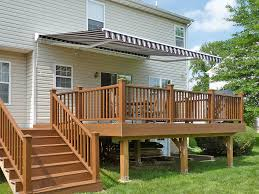 Carport Deck Combination Home Fabric Awnings 8000 Series Retractable Awnings For Decks And Patios