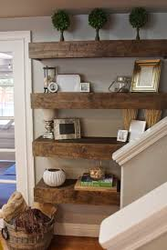 Living Room:Wood Floating Shelves Great Cabinets Furniture How Living Room  Decorating Ideas Decor On