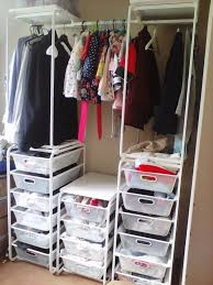 The Perfect Place For A Fresh Start  Bedroom Organization The Ikea Closet Organizer Algot
