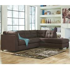 microfiber sectional sofa. Simple Sectional Shop Benchcraft Maier Microfiber Sectional Sofa With RightSide Facing  Chaise  Free Shipping Today Overstockcom 10356140 Throughout