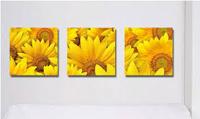 beauty painting pictures decor living room decoration sunflower wall art print on canvas artwork painted with frame in painting calligraphy from home  on sunflower wall art canvas with beauty painting pictures decor living room decoration sunflower wall