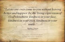 Quotes About Kindness Cool Inspiring Quote On Giving And Kindness Alame Leadership