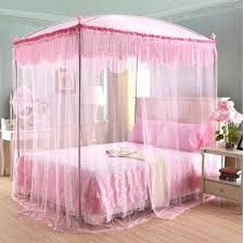 Princess Canopy Bed with princess style bed with canopy toddler bed ...