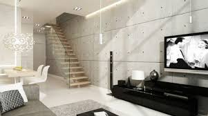 Small Picture Home Furnishings Ideas With Wall Covering Made Of Concrete And Its
