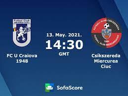 FC U Craiova 1948 Csíkszereda Miercurea Ciuc Live Ticker und Live Stream -  SofaScore
