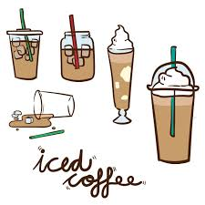 iced coffee clipart. Interesting Iced And Iced Coffee Clipart O