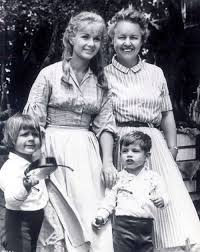 todd fisher children.  Fisher Debbie Reynolds With Her Mother Maxene And Children Carrie Todd And Todd Fisher Children