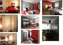Studio Apartment Design Plan Thoughts Drape Panel Paint Futon Adorable Apartment Interior Design Painting