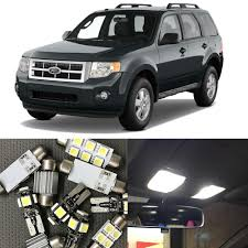Brake Light Bulb For 2005 Ford Escape Us 10 79 10 Off 11pcs No Error Interior Car Led Bulb Kit For Ford Escape 2001 2002 2003 2004 2005 Map Dome Trunk License Plate Light Car Styling In