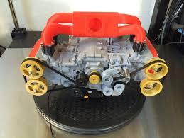 subaru wrx ej boxer engine model fully functioning by subaru wrx ej20 boxer engine model fully functioning by ericthepoolboy thingiverse